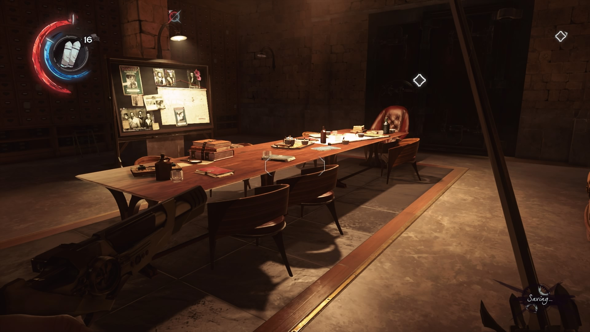 dishonored 2 find the combination to the study room