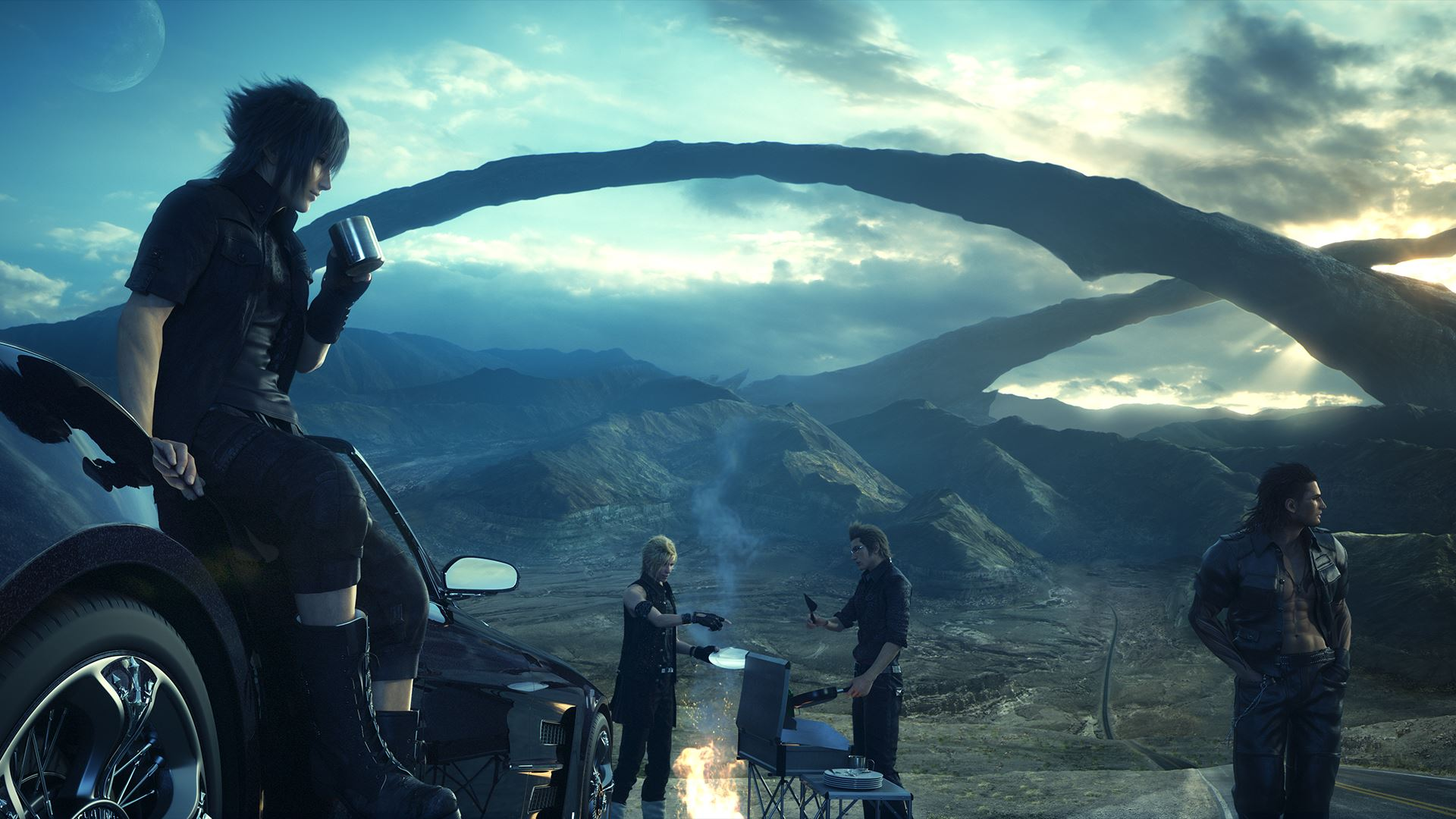 Final fantasy 15 max out every skill cooking fishing for Final fantasy 15 fishing guide