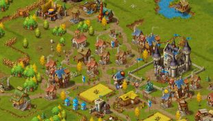 Townsmen Lets You Build the Medieval Metropolis of Your Dreams