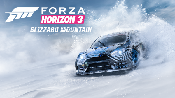 """Eat my Snow!"": says Forza Horizon 3's first big add-on."