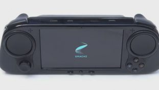 Enter SMACH Z, a full HD handheld PC which might become a Nintendo Killer