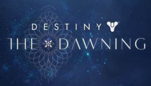Destiny's Newest Holiday Event, The Dawning, Begins Tomorrow.
