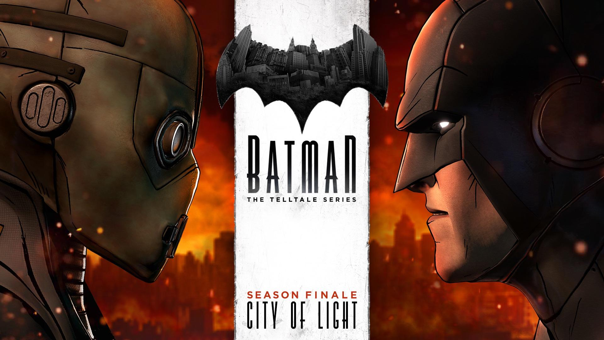 Telltale Batman Episode 5 'City of Light' to Release Next Week