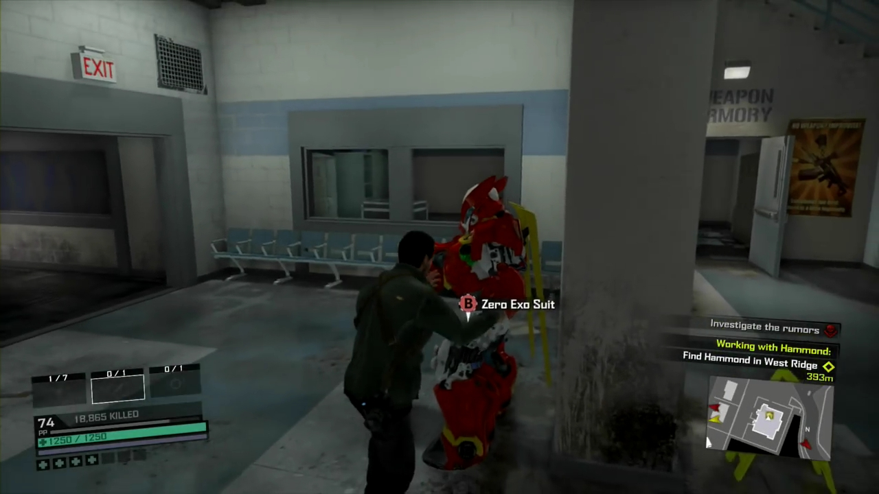 Dead Rising 4: How to Unlock the Unstoppable Zero Exo Suit