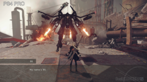 NieR: Automata Stunning Gameplay on PS4 Pro 1080p