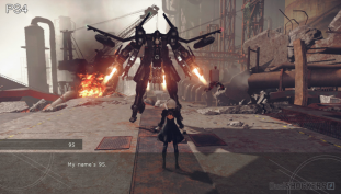 """NieR: Automata """"Glory to Mankind"""" Trailer Showcases Action-Packed Battle Scenes"""