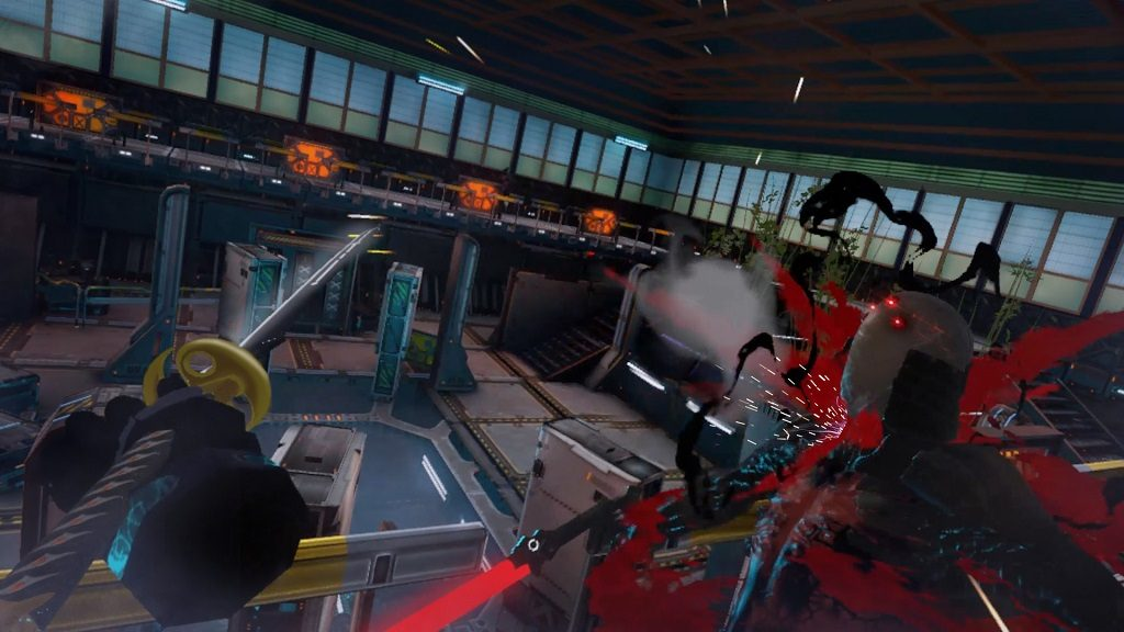 Be the acrobatic ninja you've always wanted to be in Sairento VR