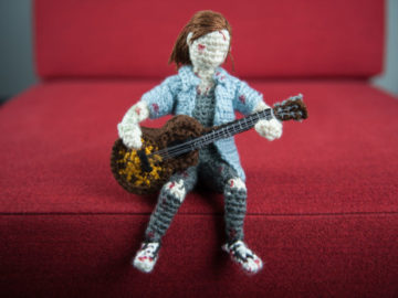 Naughty Dog Designer Explains how to Crochet Ellie From The Last of Us 2