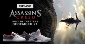 Assassin's Creed Themed Footwear is now Available From Supra