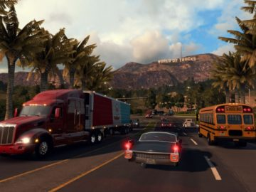 American Truck Simulator Gets Rescaled, Adds Realistic Road Network