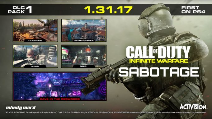 Call of Duty: Infinite Warfare First DLC Release Date Announced; Arrives on PS4 First