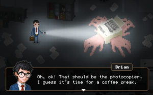 Experience a Survival Horror Story Set in Corporate Office in Baroque Decay's Yuppie Psycho