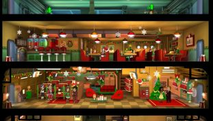 Fallout Shelter Gets in the Holiday Spirit With Festive Decorations