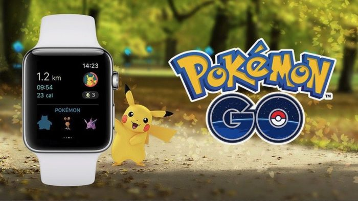 Pokemon Go Is Now Available For the Apple Watch