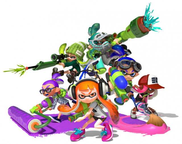 Splatoon's Inked Illustrations are Being Immortalised in a Hardcover Book
