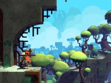 Vibrant indie Adventure Hob Gets new Playable 'Forest' Area