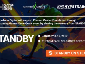 Standby Will Donate $1 Per Copy Sold to PCF During Games Done Quick