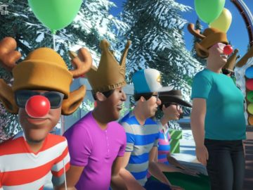 Planet Coaster's Free Winter Update Brings Festive Cheer