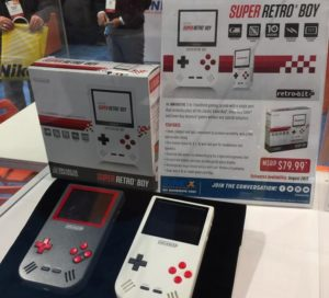 'Super Retro Boy' Lets you Play Game Boy Color & Advance Games
