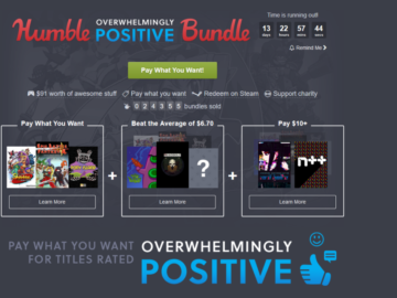 Check Out The Overwhelmingly Positive Humble Bundle