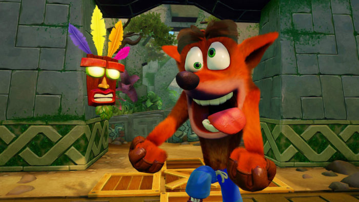 Crash Bandicoot N.Sane Trilogy Listed For Nintendo Switch