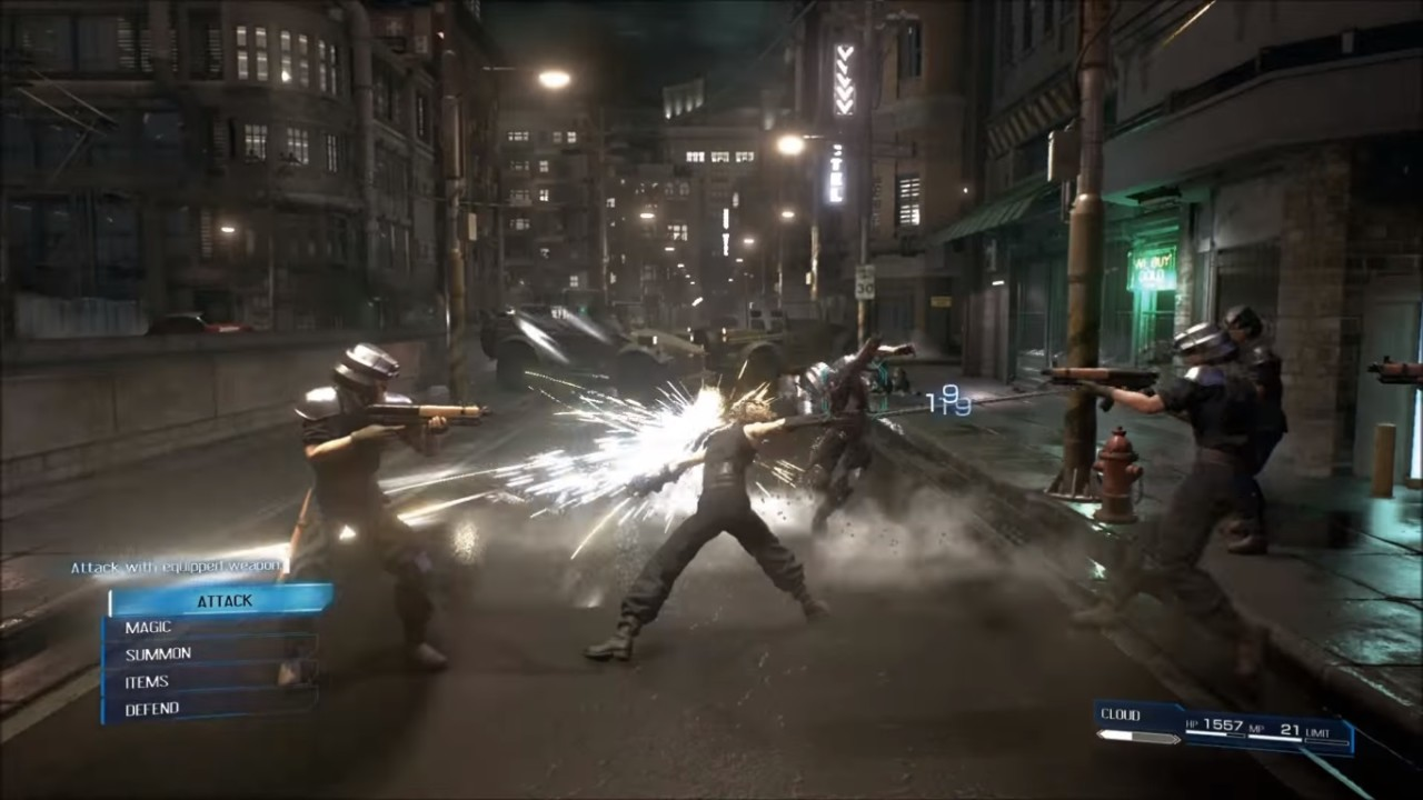Final Fantasy VII Remake Combat Details Emerged Online