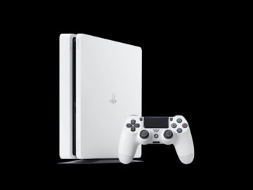 New Glacier White PS4 Slim To Come Later This Month