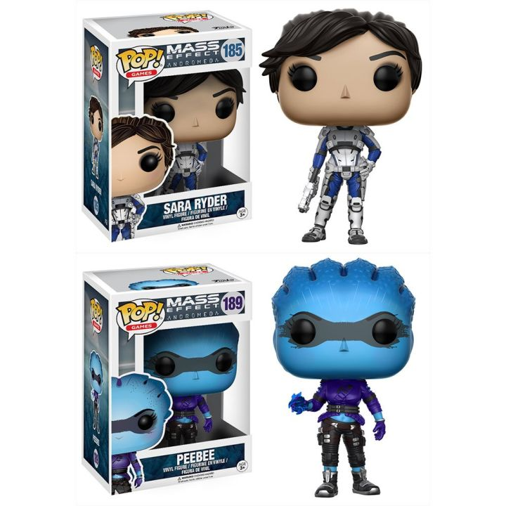 New Overwatch, Mass Effect Andromeda Pop! Vinyl Figures Announced, Tekken Also Coming