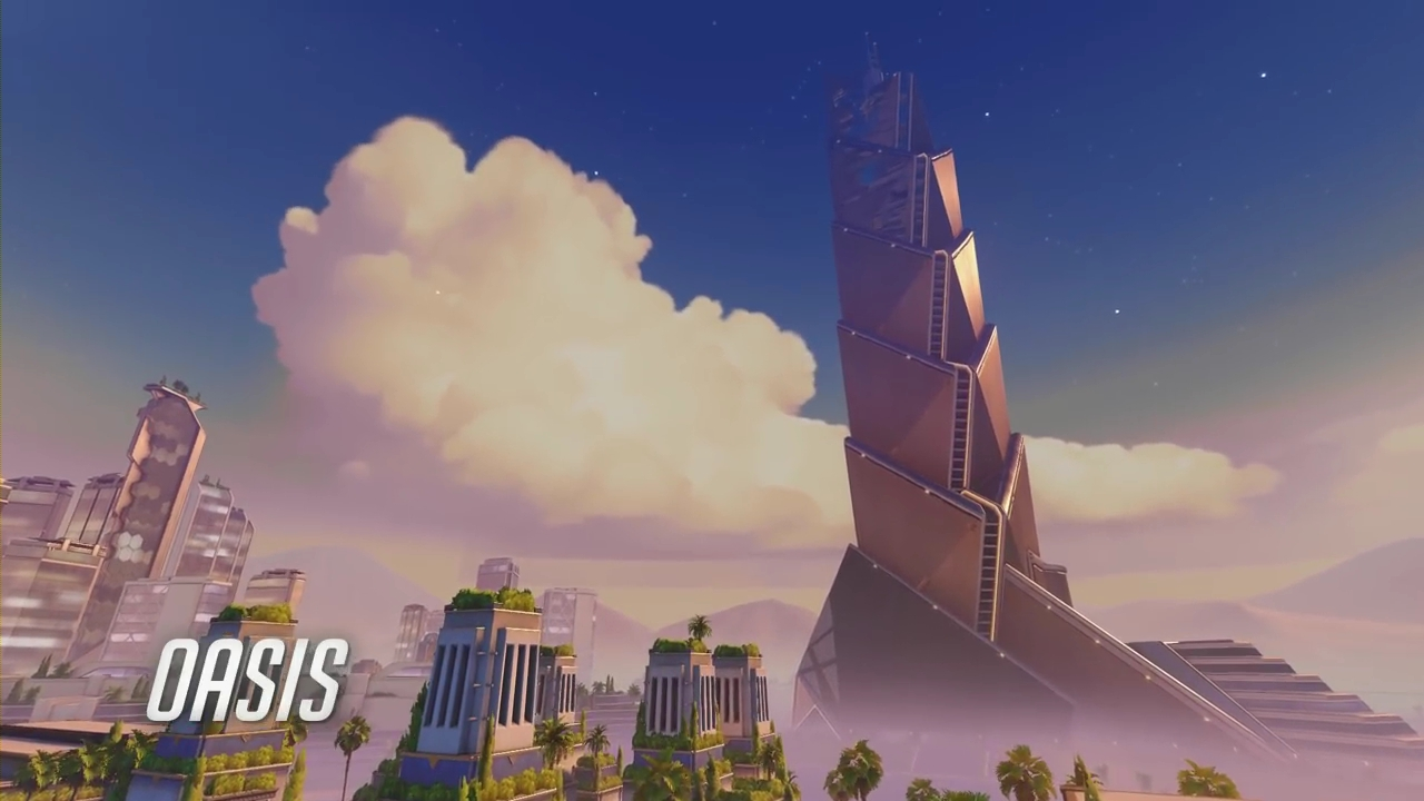 Overwatch: Explore The Secrets of Oasis | Glitches, Tricks & Lore