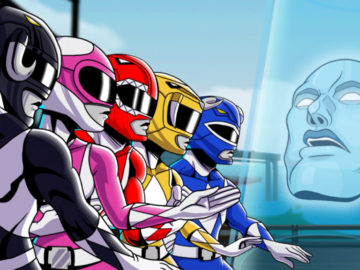 Saban's Mighty Morphin' Power Rangers: Mega Battle Unleashes Beat 'Em Up Joy