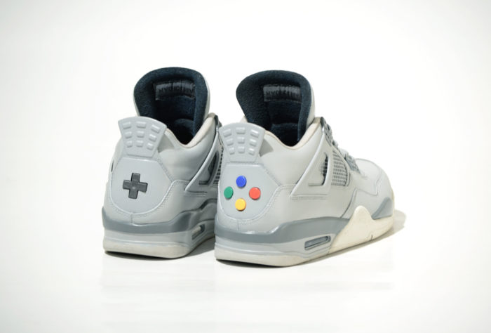 These Super Nintendo Sneakers are