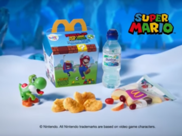 Justify Your Happy Meal Craving with Mario and Luigi Figurines with Every Purchase (UK)