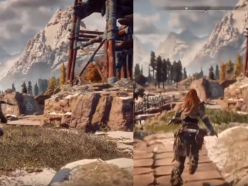 Horizon Zero Dawn E3 2016 vs 2017 Taipei Game Show Graphics Comparison