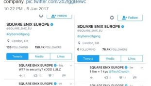 Twitter Account of Square Enix Europe Gets Hacked