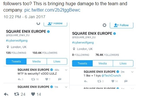 how to make a square enix account