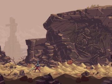Blasphemous is a Brutal Action Platformer With Fossilised Angels