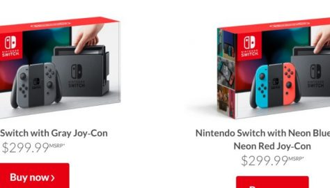colours of switch