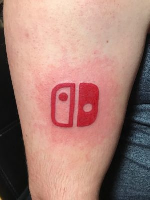 This Dude Got a Nintendo Switch Tattoo, Let's Hope He Doesn't Regret it!