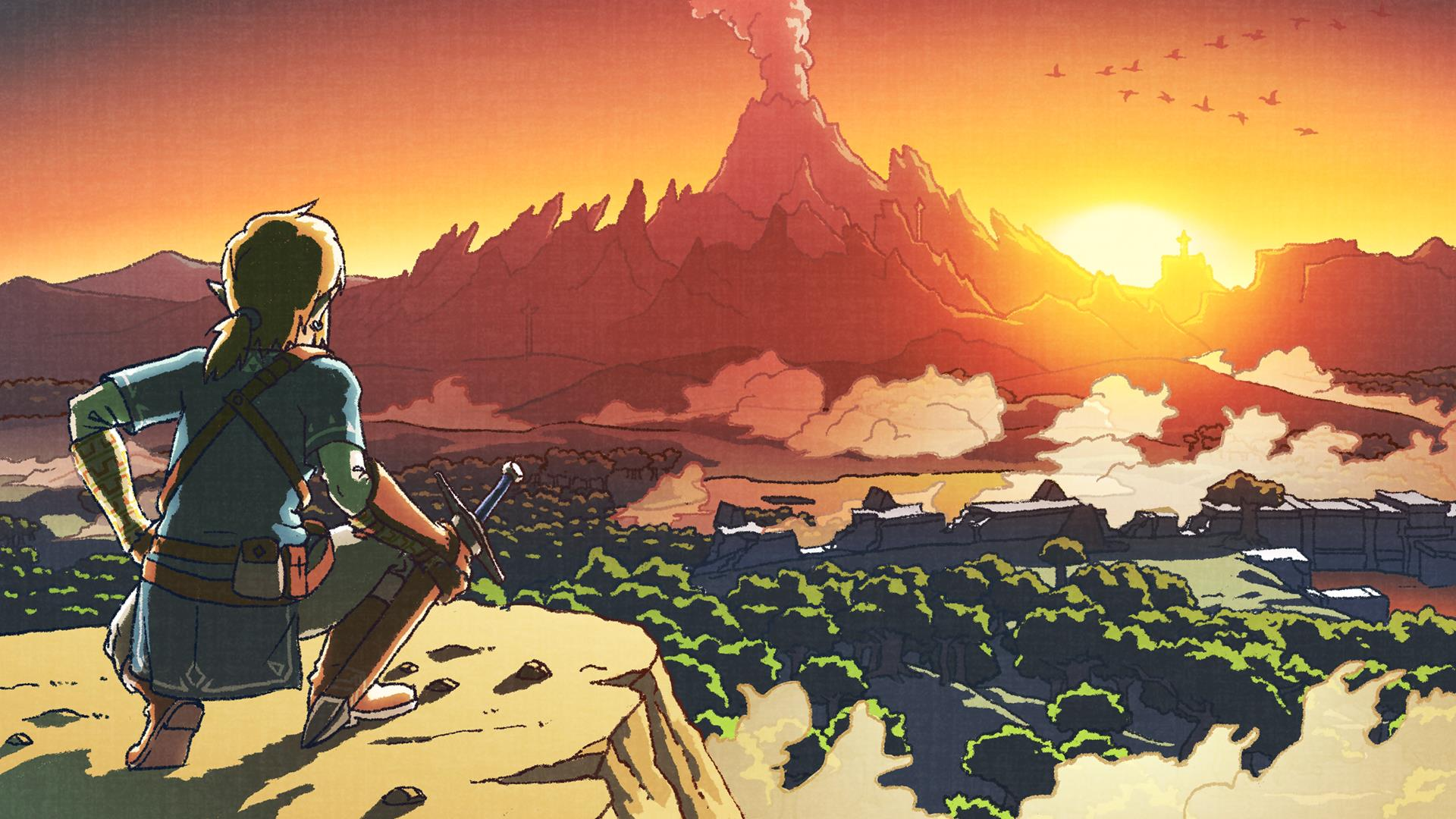 New Concept Art For The Legend Of Zelda Breath Of The Wild