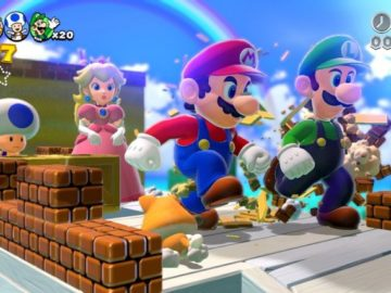 Wii U Emulator Delivers Super Mario in 4K Resolution