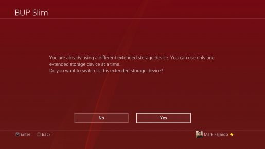You Can Only Use One External HDD on The PS4 With Firmware Update 4.50