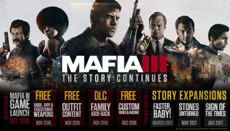 Mafia III's Story Expansions With Launch Dates Are Live