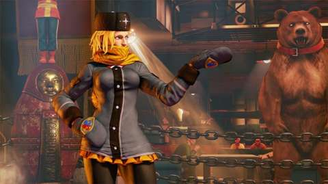 Street Fighter 5's New DLC Character, Kolin, Arrives Today