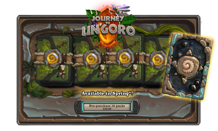 New Hearthstone Expansion Journey To Un'Goro Has Been Announced