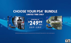 Sony Offers $249 PlayStation 4 Bundles In New Limited Time Promotion
