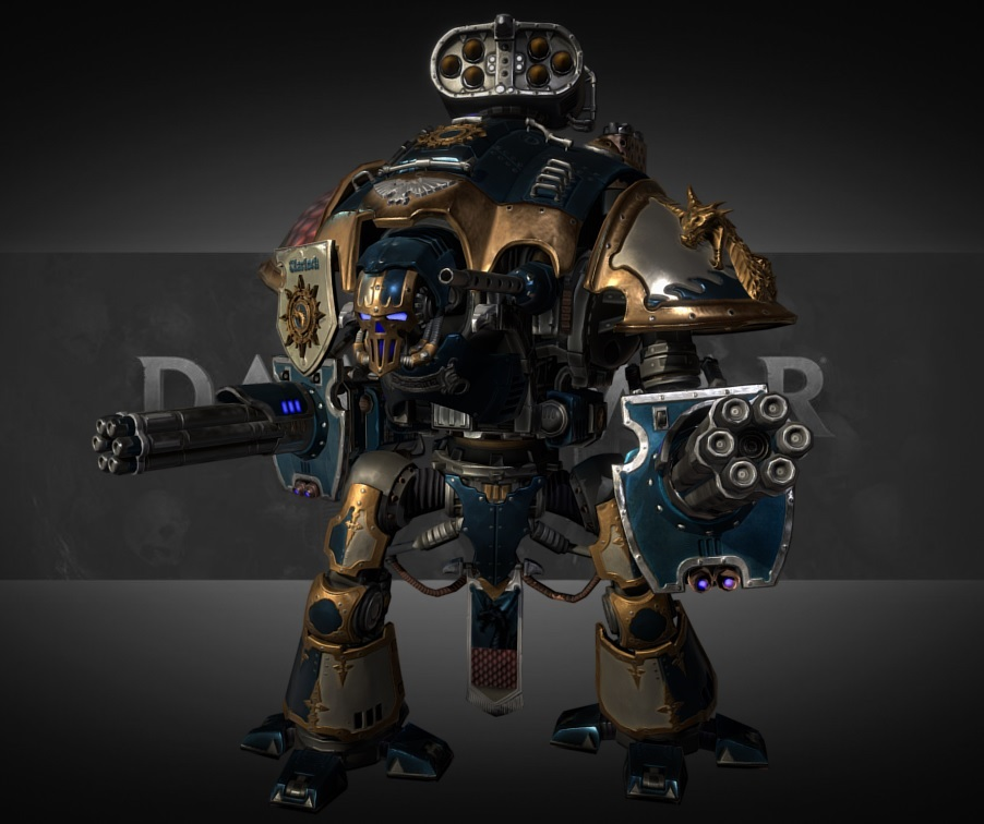 Check out These Fab 3D Models From Warhammer 40,000: Dawn of War III