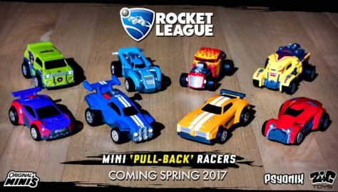 Rocket League toys