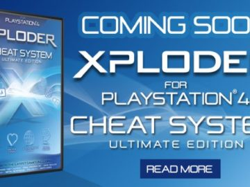 Preorder Xploder Cheat System for PS4