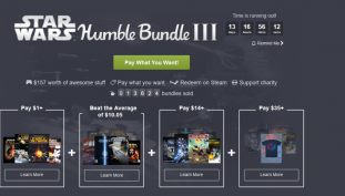 New Humble Bundle Features Star Wars