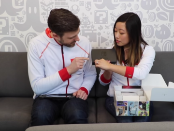 Nintendo Releases Official Switch Unboxing